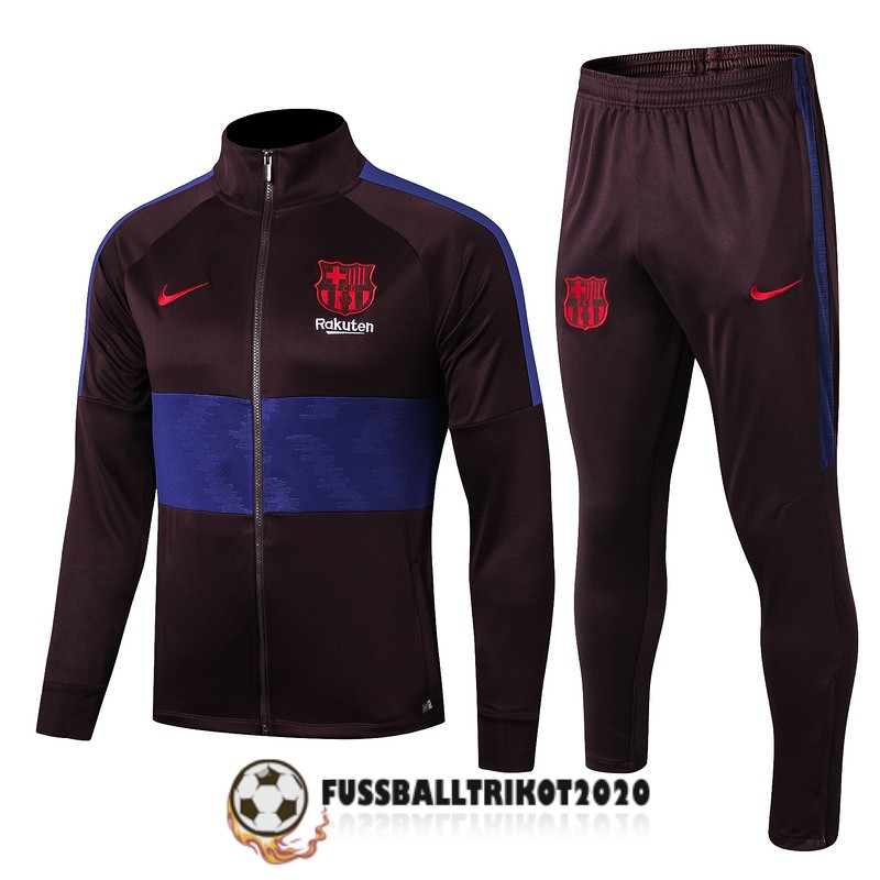 2019-2020 brown lila fc barcelona prasentaionsjacke