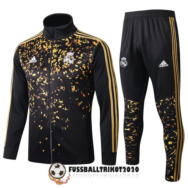 2019-2020 gold schwarz real madrid prasentaionsjacke