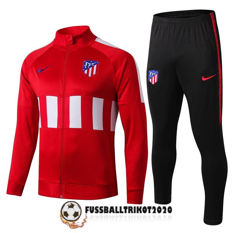 2019-2020 rot weib atletico madrid prasentaionsjacke