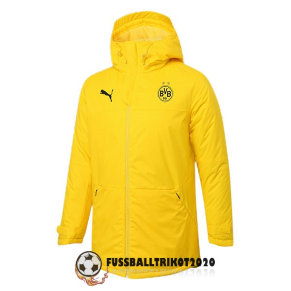 2020-2021 gelb borussia dortmund winter jacket