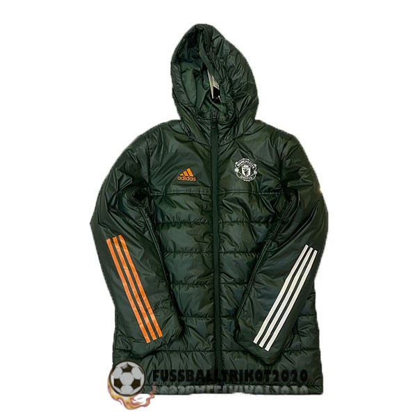 2020-2021 grun manchester united winter jacket