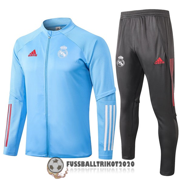 2020-2021 hellbalu real madrid prasentaionsjacke