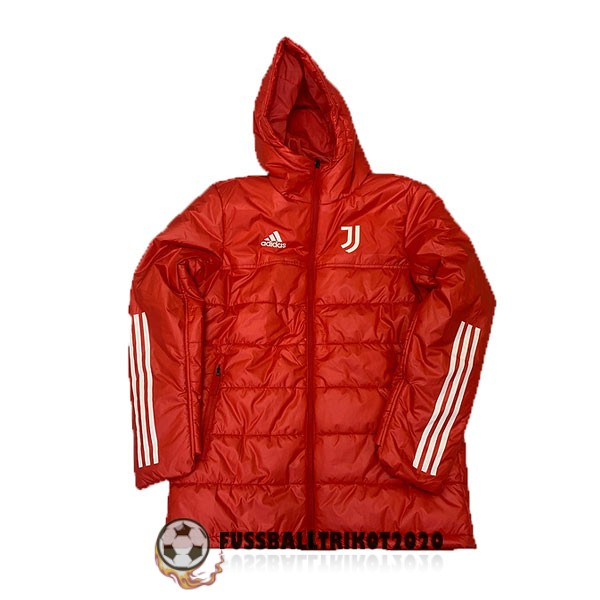 2020-2021 rot juventus turin winter jacket