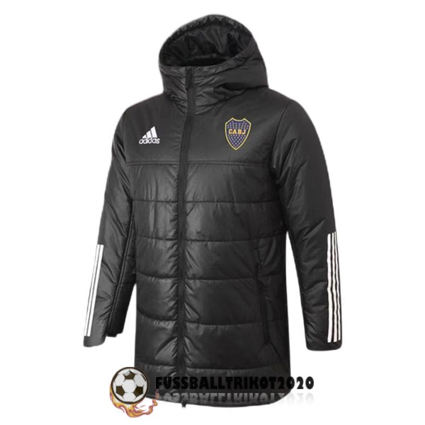 2020-2021 schwarz boca juniors winter jacket