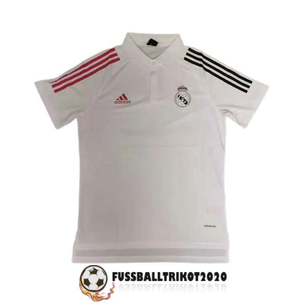 polo 2021-2022 rot schwarz weib real madrid