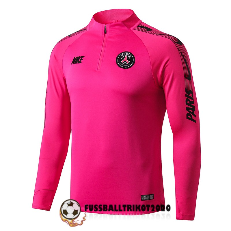 sweatshirts paris saint-germain 2019-2020 zippverschluss pink