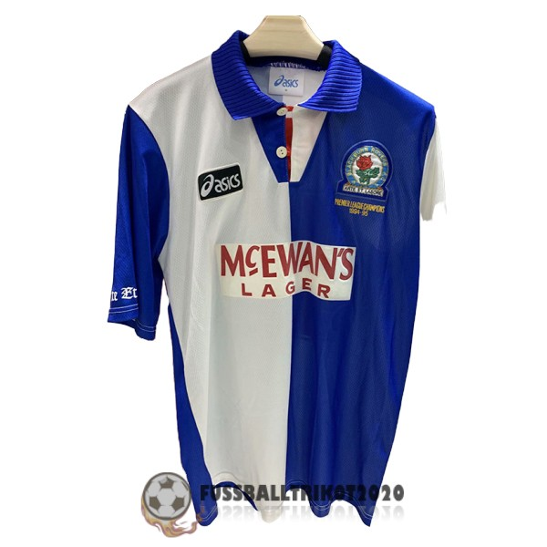 trikot blackburn rovers 1994-1995 heim retro
