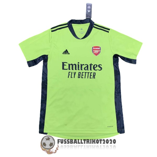 trikot fc arsenal 2020-2021 grun torwart
