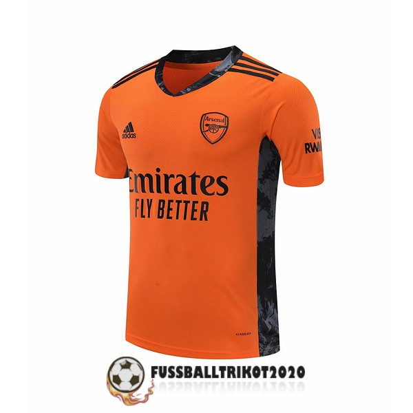 trikot fc arsenal 2020-2021 orange torwart