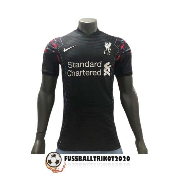 trikot fc liverpool 2021-2022 schwarz trainingsshirt player version