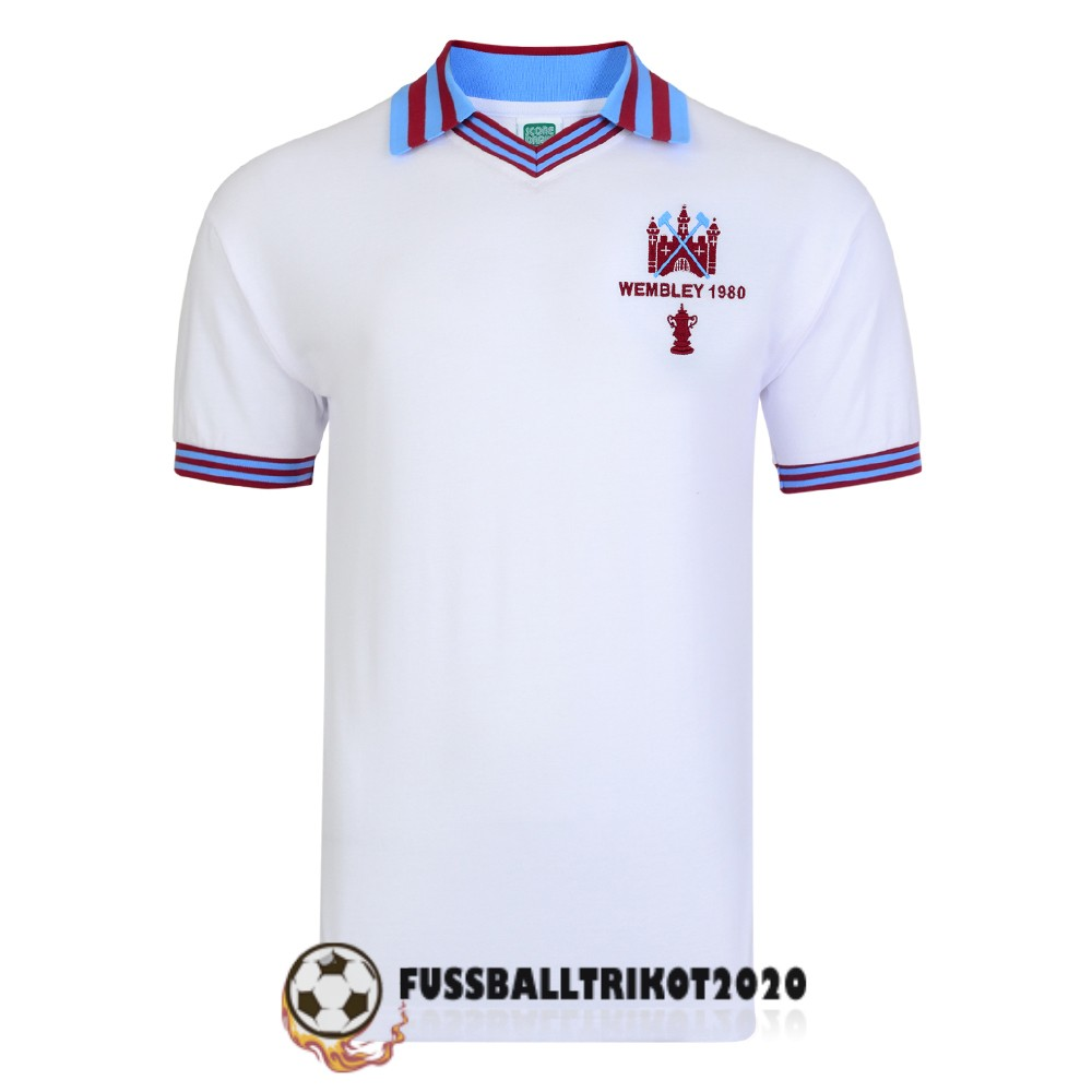 trikot west ham united 1980 retro weib champions league
