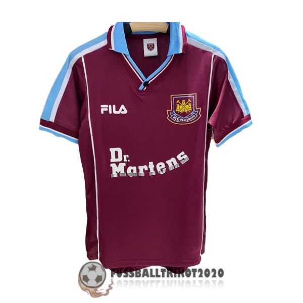 trikot west ham united 1999-2001 heim retro